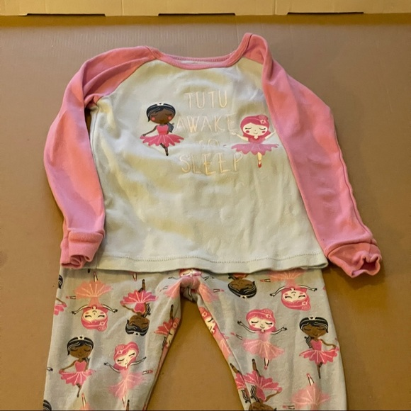 3 for $25 Wonder nation 4T Tutu awake to sleep 2pc Pajama sleepwear set